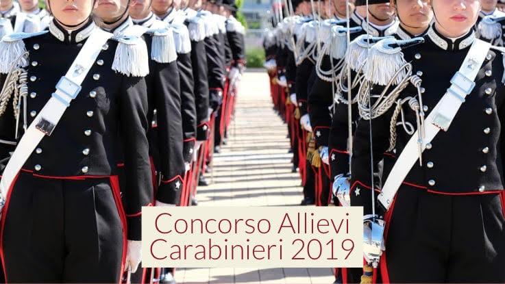 Calendario Concorso Carabinieri.Concorso Allievi Carabinieri 2019 Ecco Il Bando Format